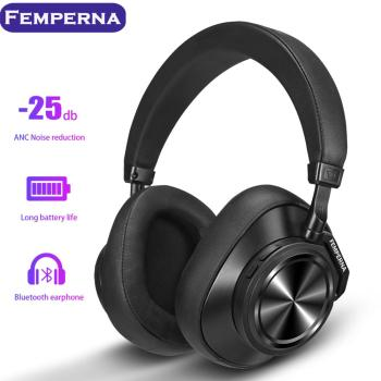 Femperna Bluetooth 5 0 Wireless Headphones For Phones And Music With Face Recognition Earphones Active Noise