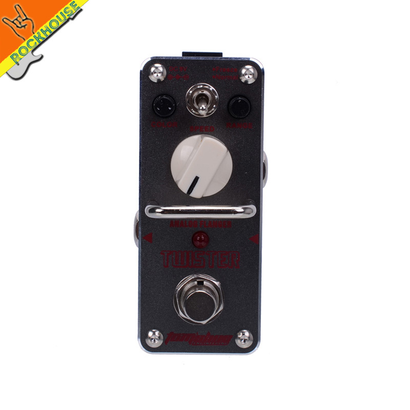 AROMA ATR-3 TWISTER Analog Flanger Guitar Effects Pedal Flanger Pedal freeze and normal Dual Models True Bypass Free Shipping caline cp 13 vintage analog chrous guitar effects pedal chorus guitarra stompbox fruity and sweet true bypass free shipping