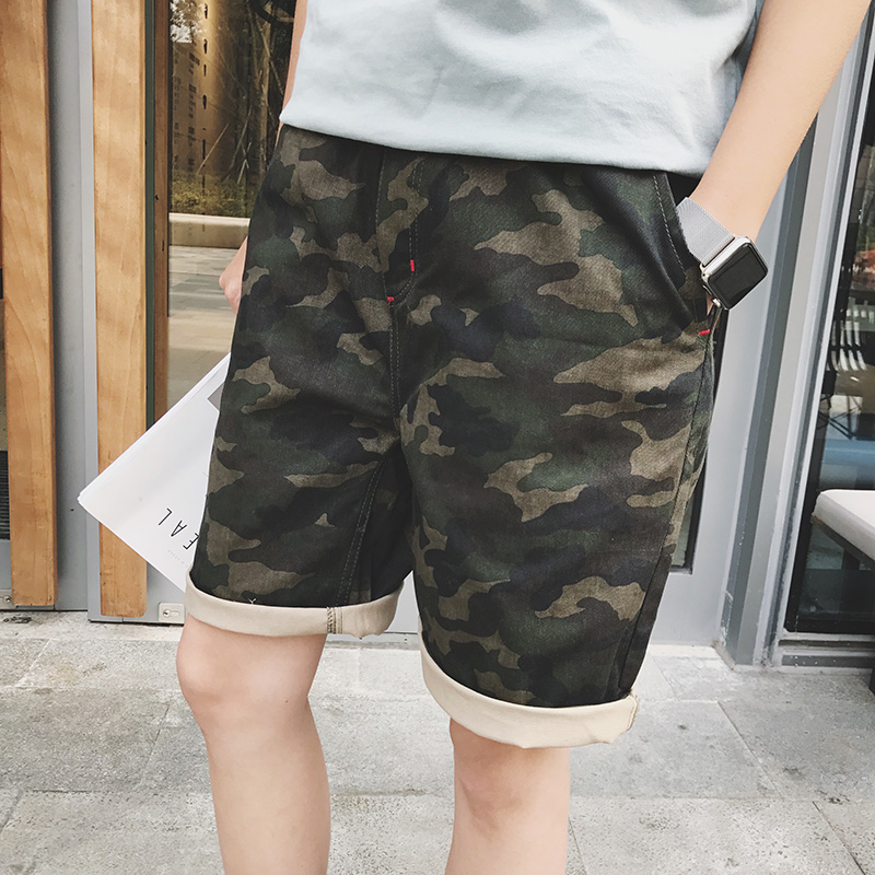 Brand Men's Jogger Sweatpants Casual Boxers Trunks Men's Activewear Gay Camouflage Beach Shorts Man Short Bottoms Fashion