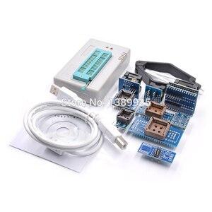 Image 4 - Nuovo originale di 100% V8.33 TL866II Più Universale Minipro 21 SIM Card e Adattatori Clip di Prova TL866 PIC