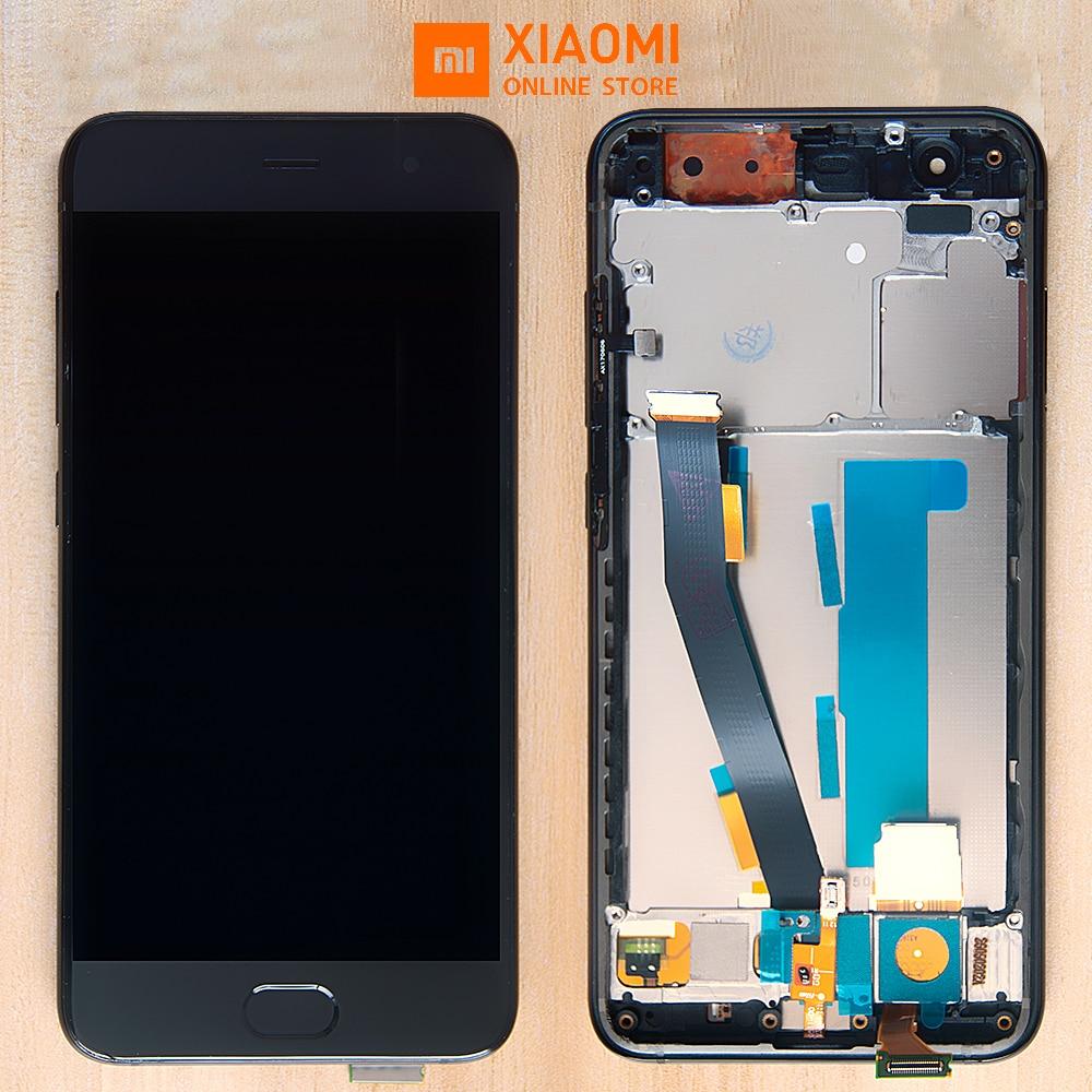 With Fingerprint Sensor Original Display For XIAOMI Mi6 LCD Display Touch Screen Frame Replacement For Xiaomi Mi 6 LCD DisplayWith Fingerprint Sensor Original Display For XIAOMI Mi6 LCD Display Touch Screen Frame Replacement For Xiaomi Mi 6 LCD Display