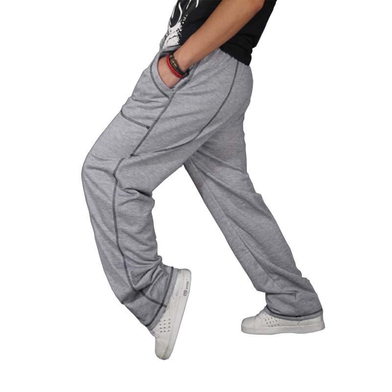 Hip Hop Sweat Pants Streetwear Men Joggers Loose Baggy Sweatpants Cotton Harem Pants Dance Men Clothing-in Sweatpants from Men's Clothing    1