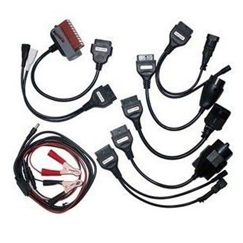 Prix pour Voiture Câbles De Diagnostic OBD2 OBDII outil De Diagnostic câble de connexion 8 PCS Pour DELPHI DS150E