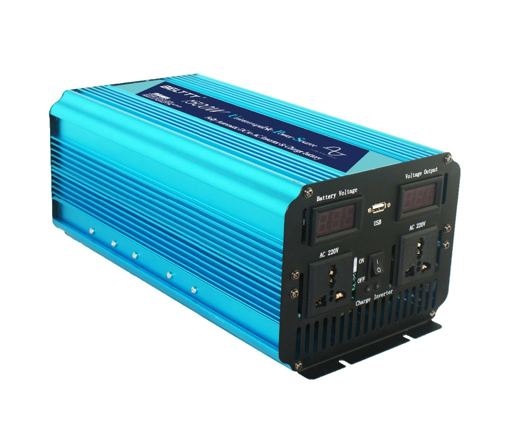 pure sine wave power inverter with AC charger 48v 220v with high quality 1500watt - 6