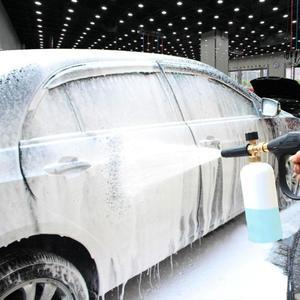 Image 1 - VODOOL pistola de espuma de lavado de coches, arandela de alta presión, generador de espuma, pulverizador de agua, pistola de limpieza de estilismo para coche, lanza Jet para Karcher
