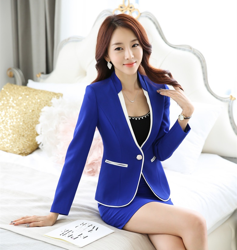 Compare Prices on Blue Blazer for Women- Online Shopping/Buy Low ...