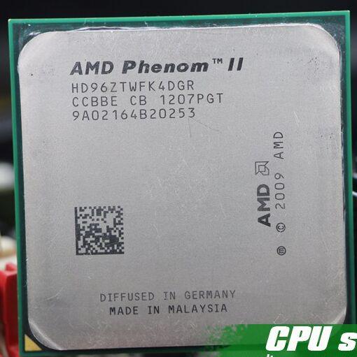 Livraison gratuite amd phenom II X4 960 T morceaux épars L3 6 MB 3.0G AM3 Processeur livraison gratuite