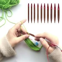 13 Size Changeable Aluminium Circular Knitting Needle Ring Set Crochet Craft Yarn Sewing Tools Crochet Hooks