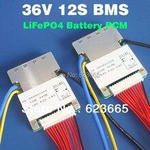 12S 36V 15A lifepo4 BMS batteria Utilizzato per la bici elettrica 36V 8Ah 10Ah 12Ah 15Ah LiFePO4 batteria pacchetto Con funzione di bilanciamento