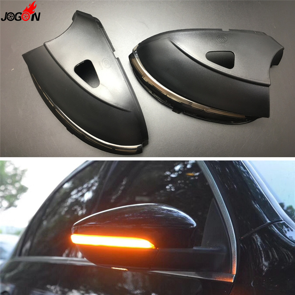 LED Side Wing Rearview Mirror Indicator Blinker Repeater Dynamic Turn Signal Light For VW Passat B7