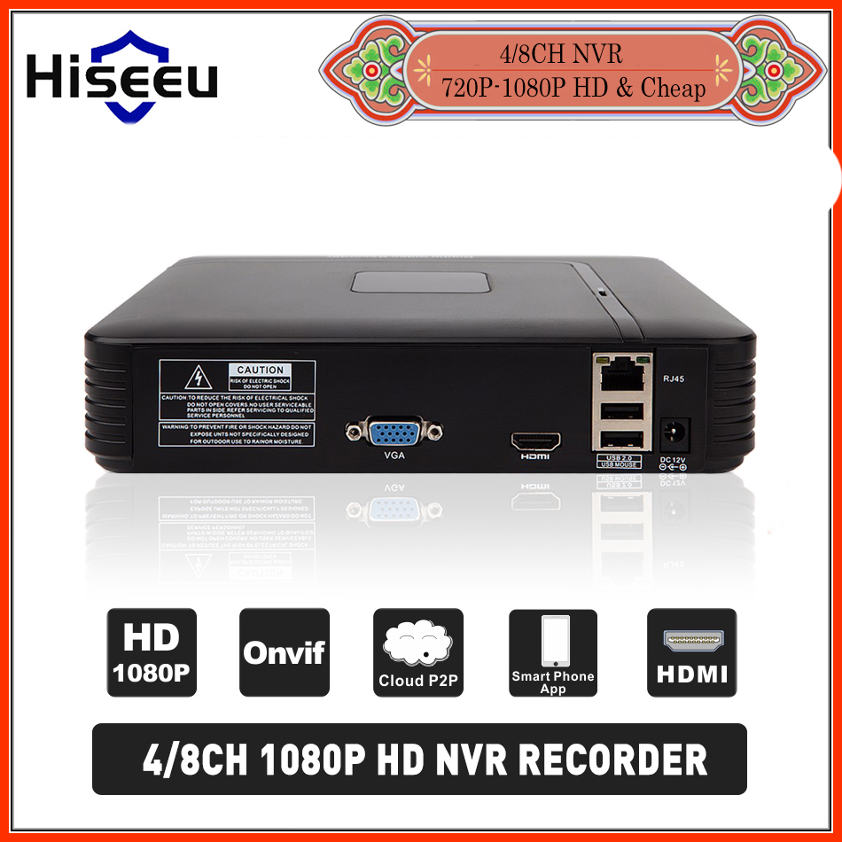H.264 VGA HDMI  4/8CH CCTV NVR 8Channel Mini NVR 1920*1080P ONVIF 2.0 For IP Camera Security System For 1080P Camera Remote view skkh162 16e