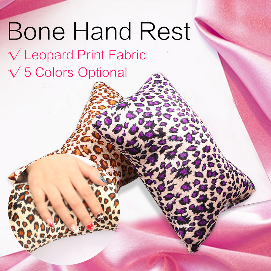 BlinkingNails Leopard Сүйекті Қол Күтімі Жастық - Маникюр - фото 1
