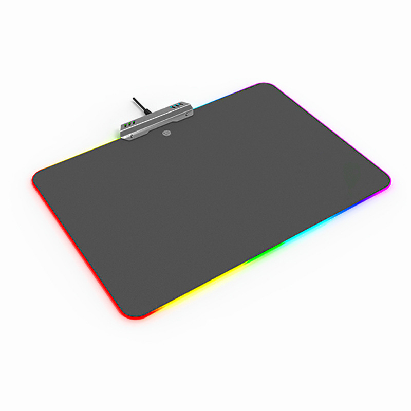 New Arrival Lighting Mouse Pad LED Gaming RGB Ten Modes Comfortable Computer Mice Mat For Gamer EM88