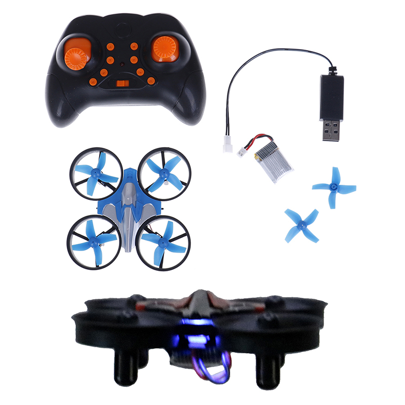 Mini Drone JJRC H36 6 Axis RC Micro Quadcopters With Headless Mode Drones One Key Return RC Helicopter Vs JJRC H8 Dron