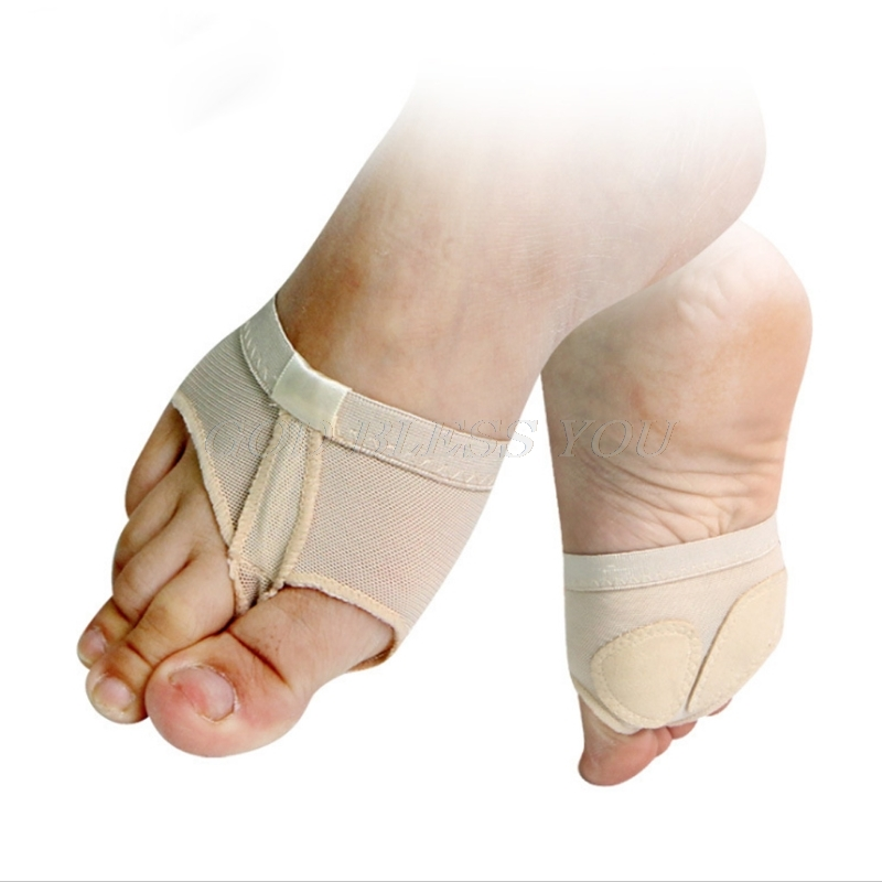Belly Ballet Dance Toe Pad Practice Shoe Foot Thong Care Tool Half Sole Gym Sock Selling
