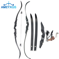 ebddc3ffb 1Pc 60 ILF RF3 Archery Takedown Longbow Recurve Bow Right Hand 20 50lbs  Recurve Bows For