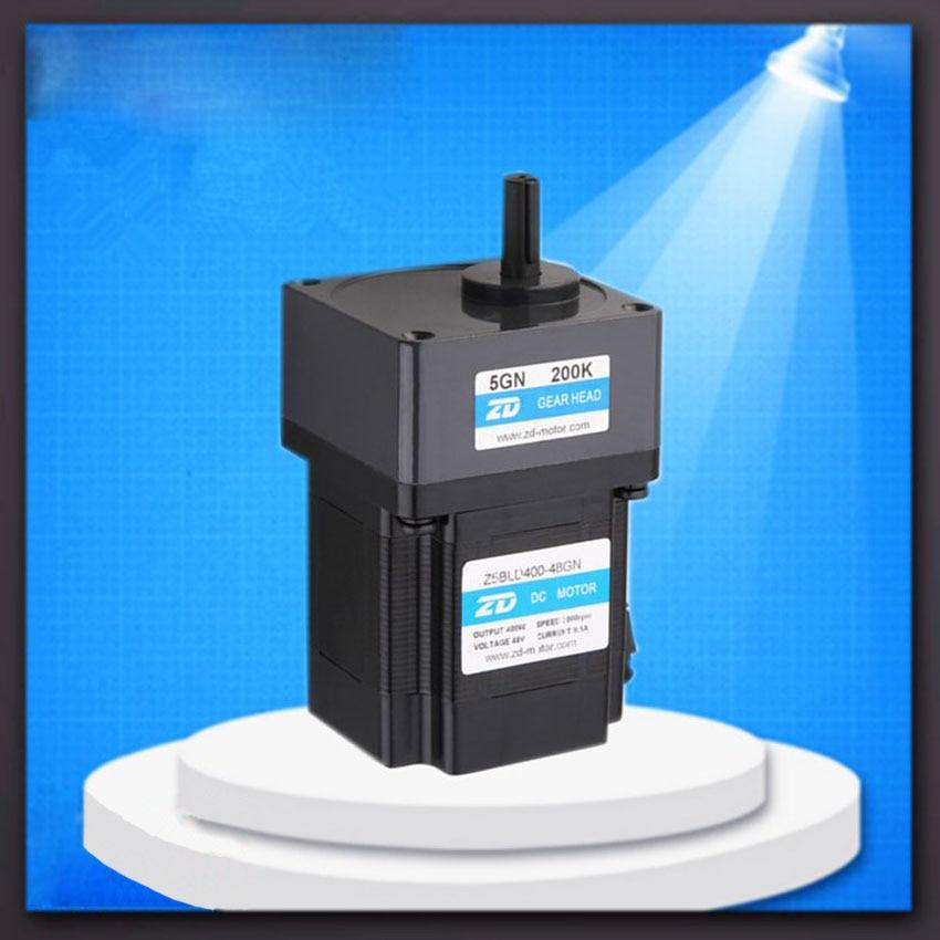 1pc Gear Ratio 90 to 200 brushless dc motor 400W 48V brushless dc motor permanent magnet bldc motor