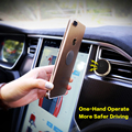 FLOVEME Universal Magnetic Phone Holder Car Air Conditioning Vent Stent With Sticky Iron Tablets For iPhone Samsung Xiaomi Meizu