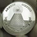 Freemason Souvenir Coins Collectibles Replica Metal USA Masons US Masonic Silver Coin Drop Shipping