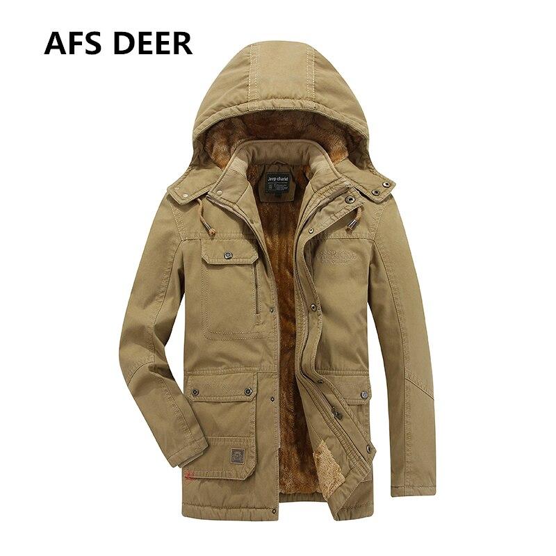 2017 бренд Для мужчин зимняя куртка Для мужчин теплое пальто с капюшоном Для мужчин Подпушка одежда с хлопковой подкладкой Куртки мужской утк...