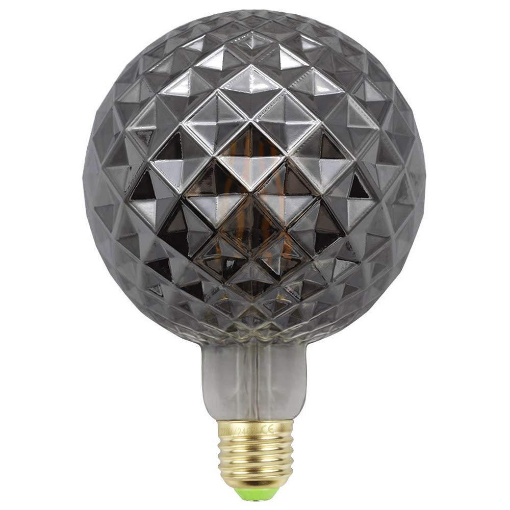 600lm Dimmable 2000K Amber Lumilife 7.5W E27 Tear Drop Filament LED