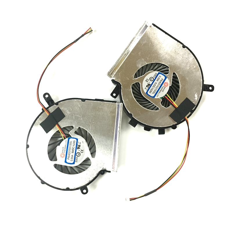 New Brand Laptop CPU Cooling fan for MSI GE62 GE72 PE60 PE70 GL62 Left+Right PAAD06015SL