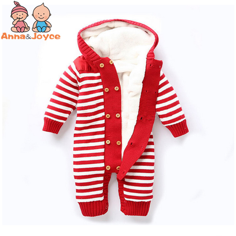 Baby New Double-Breasted Thickening Autumn And Winter Warm Soft Romper Kids Cotton Fashion Climb Clothes TST0037