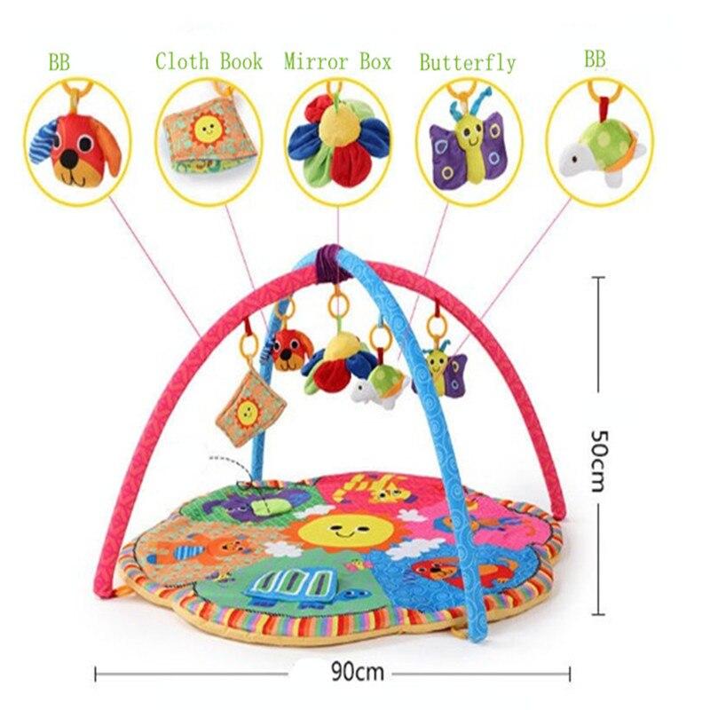 Baby Play Mat Actividad del bebé Pad Gym Educational Play Mats - Juguetes para niños - foto 5