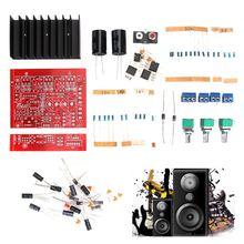 Dos Altavoces de rango Completo de Altavoces $ number CANALES TDA2030 Subwoofer 2.1 Amplificador de Audio Estéreo Digital Amplificador de Audio Digital de DIY Kits de Mesa