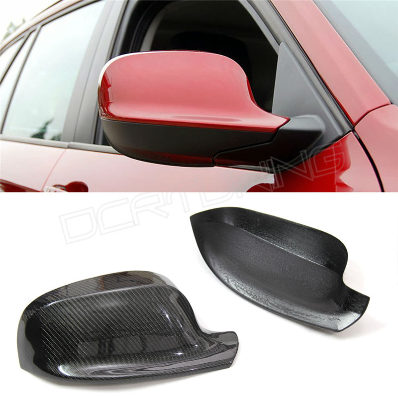 For BMW X3 F25 2010 2011 2012 2013 Add On Style Carbon Fiber Side View Mirror Cover ноутбук dell vostro 3558 3558 1993 3558 1993