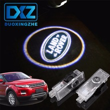 2Pcs LED Car Door Welcome Laser Projector Logo Door Ghost Shadow Light for Land Rover