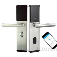Precio Cerradura de puerta nueva inteligente Catchface inteligente Bluetooth Digital APP cerradura de puerta teclado código cerradura
