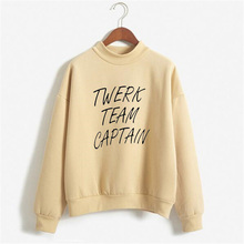 Twerk Team Shirt CAPTAIN Sweatshirt Funny Christmas Gift Tops Hoodies For Women Fashion Winter Fleece Tracksuit Hoody NSW-F61168
