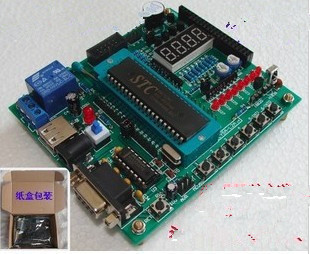 51 PIC Development Board 51/AVR SCM / learning board LY5A-L2A board STC89C52 (AT89S52)