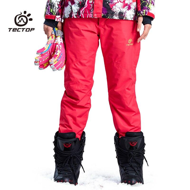Planche à neige sur glace Ski et Snowboard Sport Snowboard pantalon femme neige hiver Ski pantalon femme pantalon Sport d'hiver - 3
