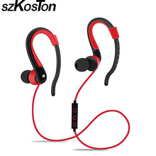 Nuevo Wireless Bluetooth Auriculares Running Sport Stereo Music Auriculares Super Clear Bass Auriculares Con Micrófono Para Teléfonos Inteligentes