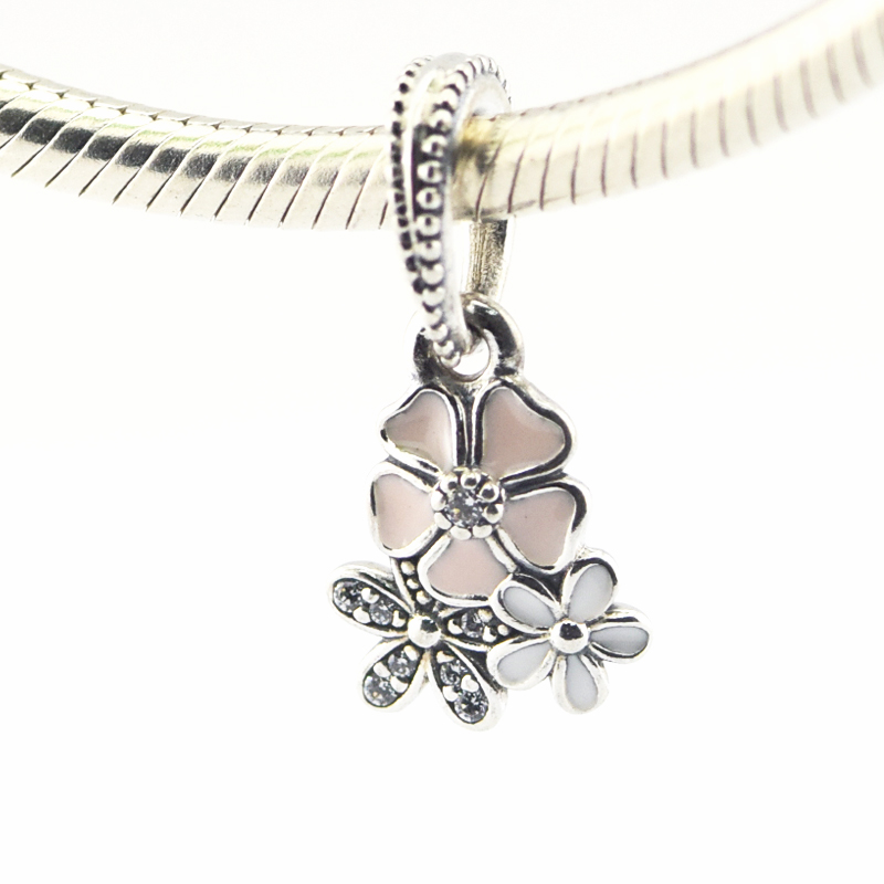 Beads Original New 100% 925 Sterling Silver Charm Authentic Classic Heart Lemon Flower Fragrance Retro Elegant Women Bead Wedding Jewelry Gift Cool In Summer And Warm In Winter Jewelry & Accessories