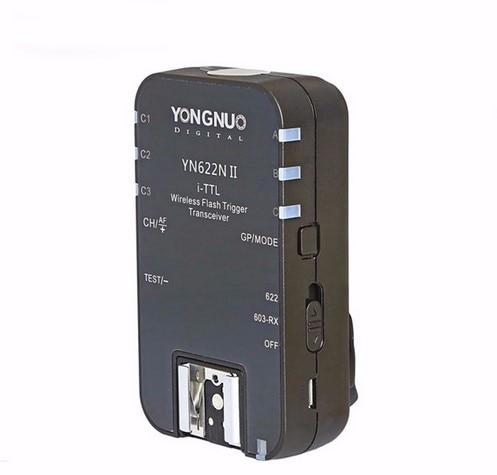 YONGNUO YN 622N II TTL Wireless Flash Trigger single YN 622N II for Nikon D800 D700