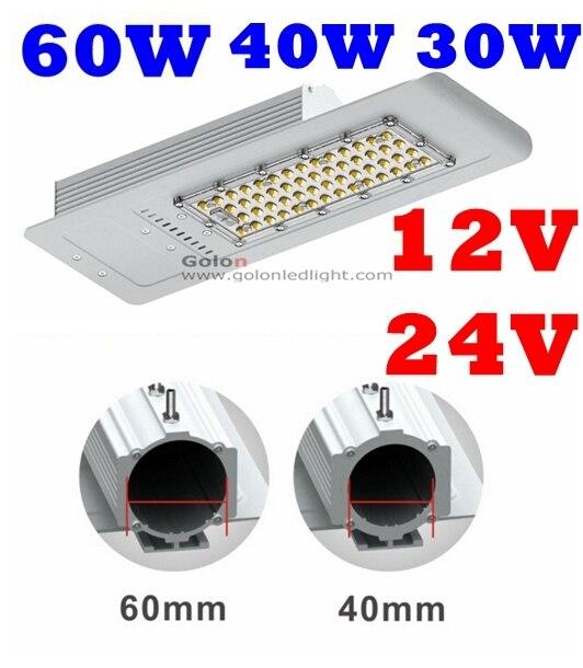 solar led street lighting fixture 60w 40w 30w 24v 12v dc cold white rh aliexpress com
