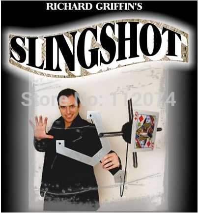 The Slingshot - magic Trick,card magic,magic accessories props magic scratch card magic props white black