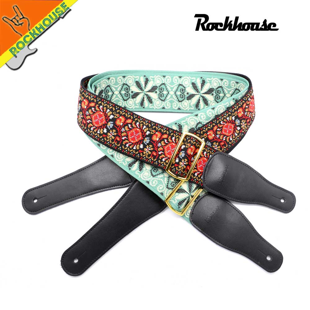 Senior Jacquard Electric Guitar Strap Acoustic Guitar Strap Folk Guitarra Strap Mandolin Strap Anti-skidding Iron Buckle warp knitting classical guitar strap acoustic electric guitar strap extreme well