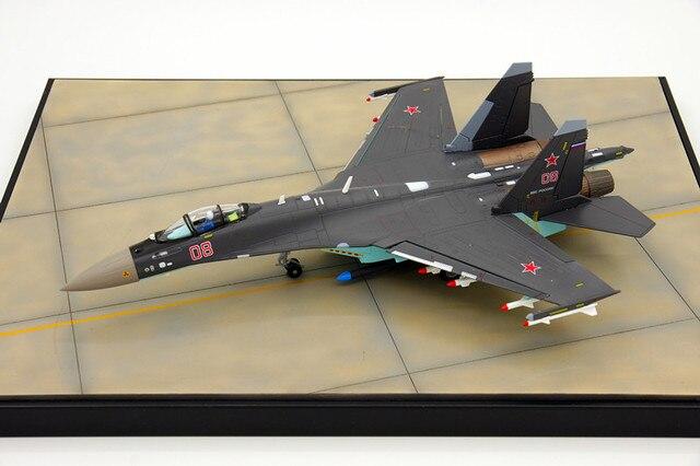 Ввс россии Сью 35 летная модель СУ-35 истребитель имитационной модели самолетов коллекция 1: 72