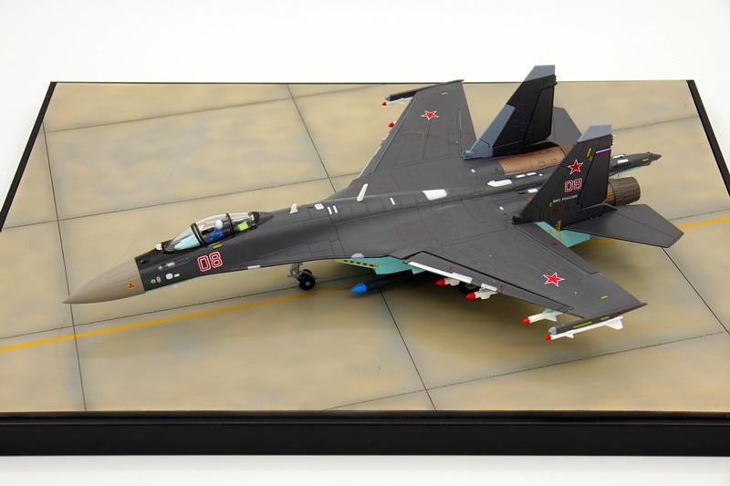 Russia Airforce Sue 35 flight model SU-35 fighter aircraft simulation aircraft model collection 1:72 1 400 jinair 777 200er hogan korea kim aircraft model