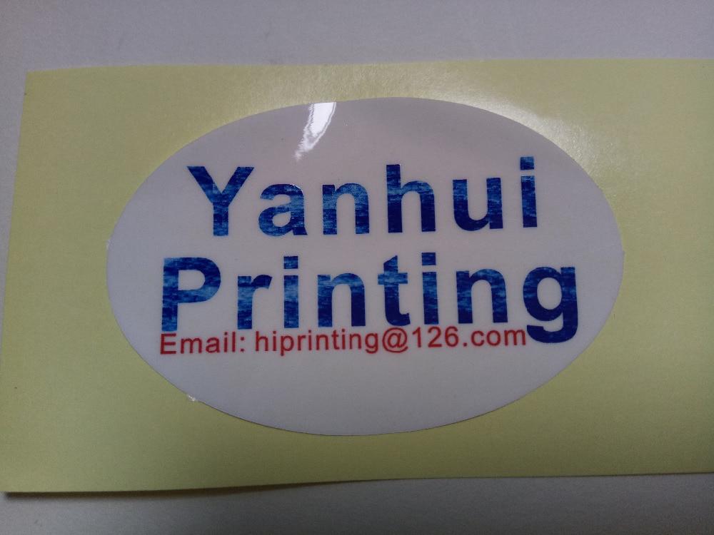 6x6cm pegatina cuadrada/pegatina de vinilo impresión personalizada-in Adhesivos de papelería from Suministros de oficina y escuela    1