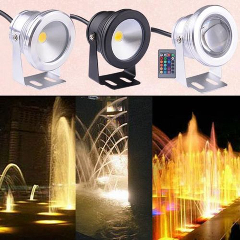 Led Lamps Hearty 10w Led Swimming Pool Light Underwater Waterproof Ip67 Landscape Lamp Warm/cool White Ac/dc 12v 800-900lm Led Underwater Lights