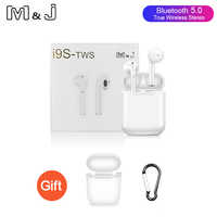 Original i9 i9s tws Wireless Bluetooth 5.0 earphones 3D Stereo Sound Portable Headsets Earbuds earpiece pk i10 i12 tws with case