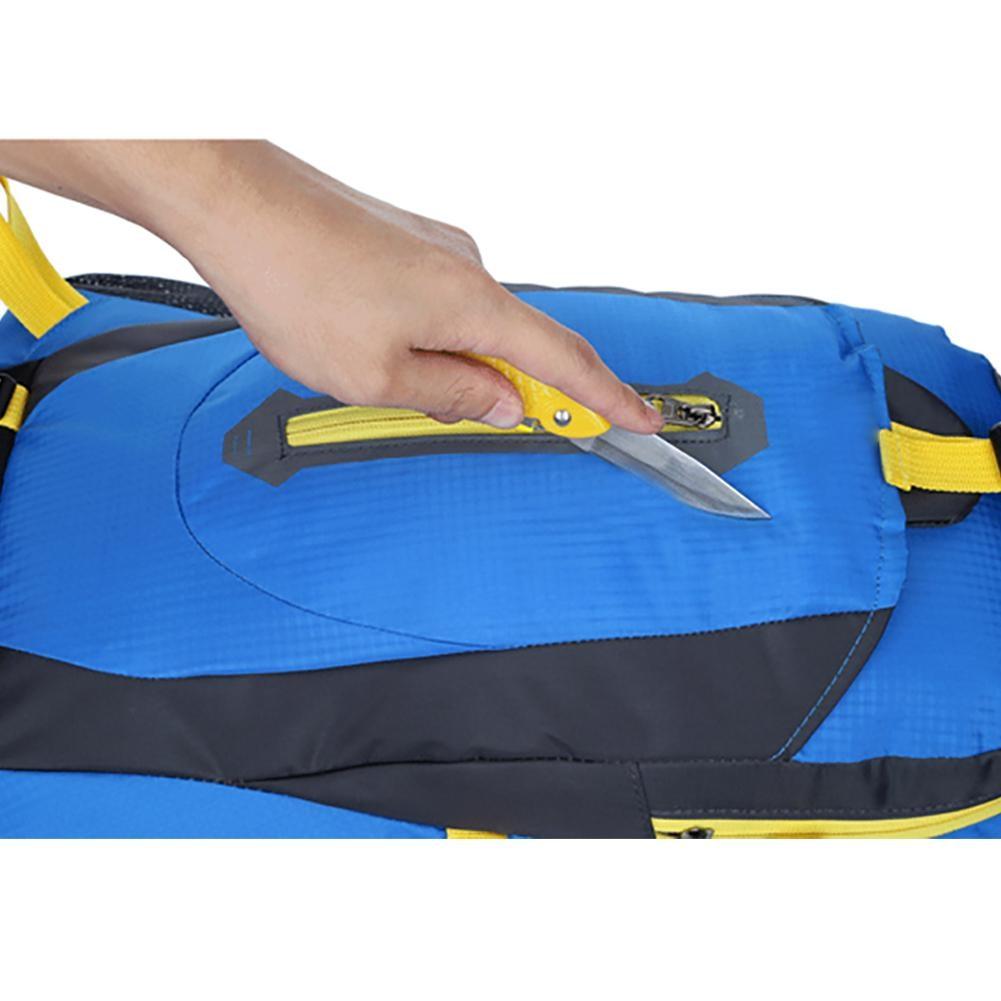 Della Dello Alpinismo Il Con Blu Esterno Sport Alta Giallo Impermeabile Vita Sacchetto Qualità Antipolvere Spalla Antigraffio Di E Zaino Ivxw0wqCR