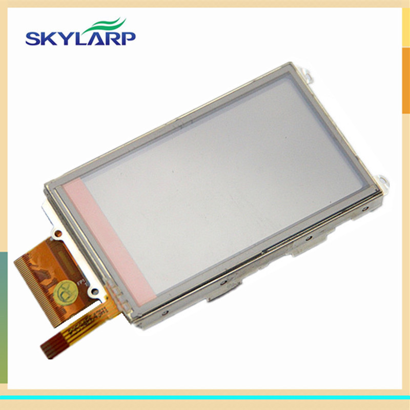 Original 3 inch Handheld GPS LCD display screen For GARMIN OREGON 200 300 with touch digitizer panel glass