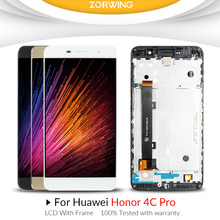 купить For HUAWEI honor 4c pro TIT-L01 LCD Display + Touch Screen Digitizer Assembly Smartphone Replacement For Honor 4C PRO LCD по цене 1308.74 рублей