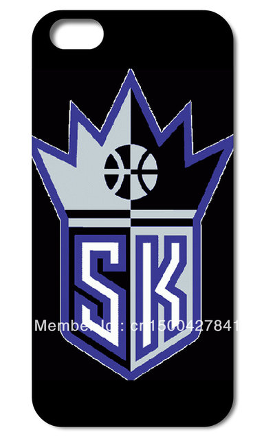 Popular !Sacramento Kings Hard Back Cover Skin for iPHONE 4 4s 4G 4TH MOBILE CELL Phone Case Free Shipping 10PCS/Lot